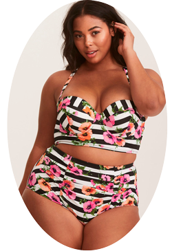 Separate Plus Size Swimwear
