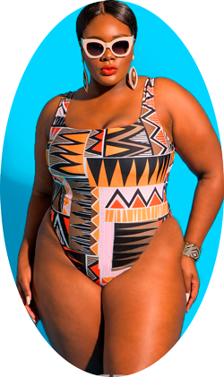 Beautiful XXL Swimsuit