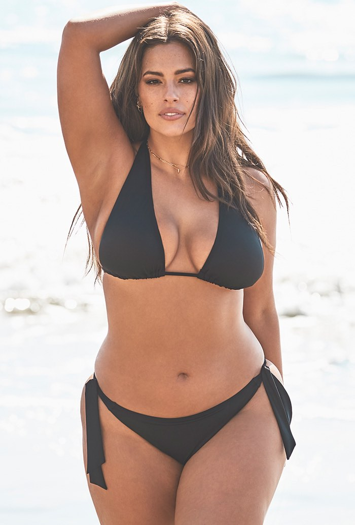 Ashley Graham Elite Black Bikini