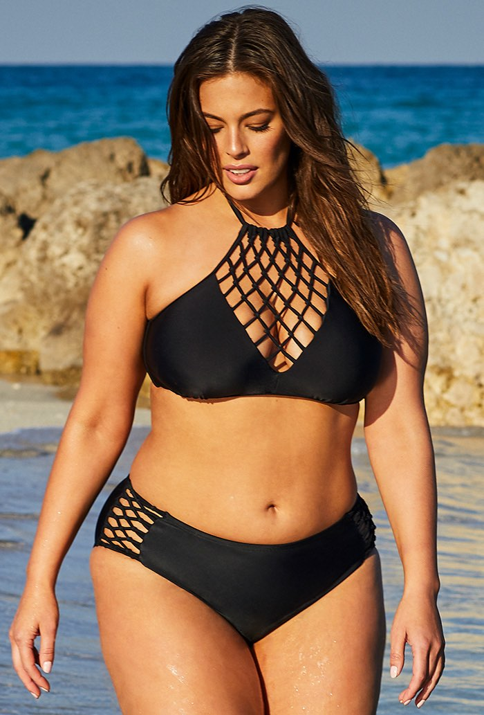 Ashley Graham Leader Bikini Set