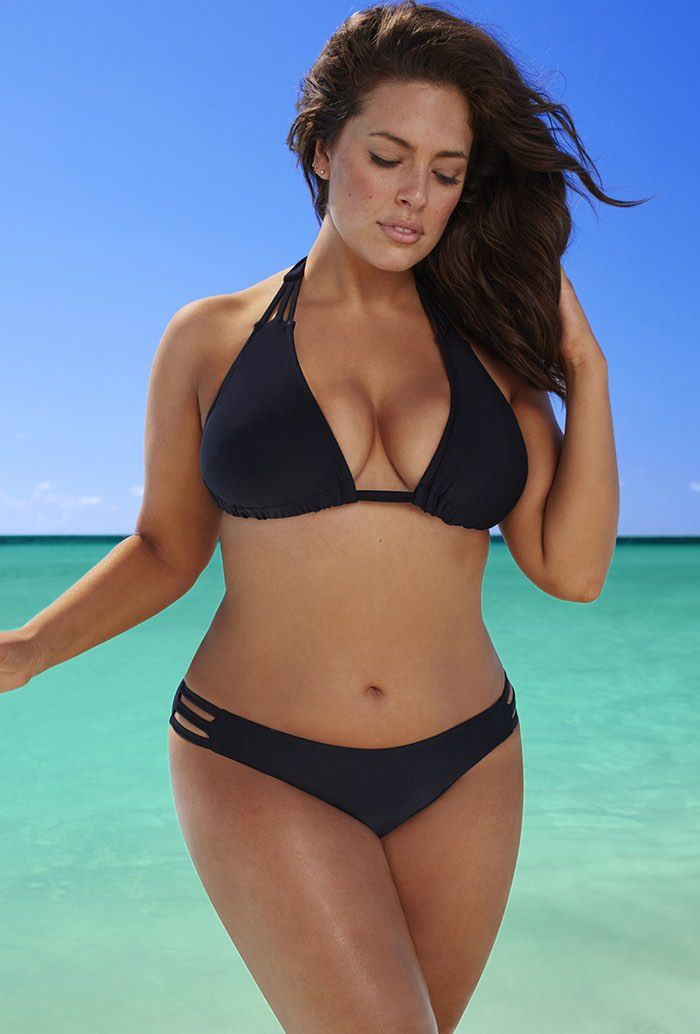 Black Triangle String Bikini Set
