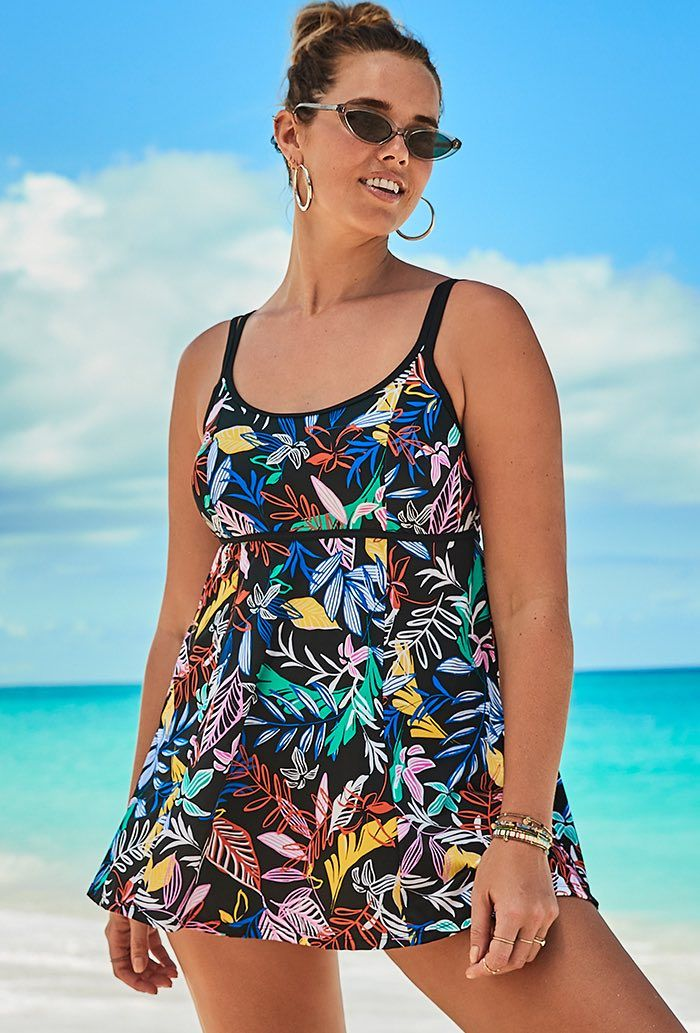 Reef Lingerie Swimdress Plus Size Swimwear